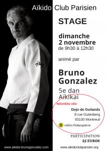 Stage Bruno Gonzalez Montreuil